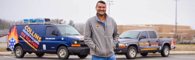 Dyer Indiana HVAC Contractor Mark Ortiz - Collins Heating & Cooling